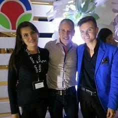 Con Jhon Ospina y Hernan Zajar