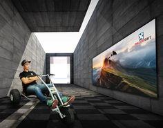 Mountaincart, downhill în siguranță, în 4 mărimi constructive, pentru orice vârstă