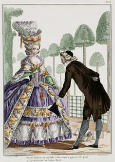 The fabulous fashion of the 18th century French court
