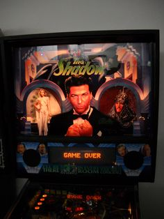 The Shadow pinball at Ground Kontrol.  Love the machine, but it is a pain to keep in top shape.