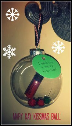 Mary Kay Kiss-mas Ball...too cute! www.marykay.com/christykay01 Request your free samples!