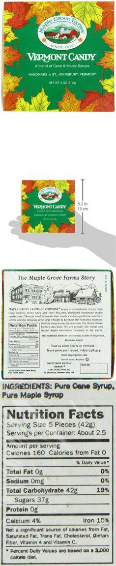 Maple Grove Farms Vermont Candy, 4 Ounce