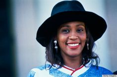 her hat + her smile. whitney houston style <3