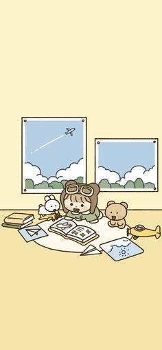 Lion Wallpaper, Cute Girl Wallpaper, Graphic Wallpaper, Anime Scenery Wallpaper, Kawaii Wallpaper, Pastel Wallpaper, Cute Wallpaper Backgrounds, Wallpaper Iphone Cute, Hd Cute Wallpapers