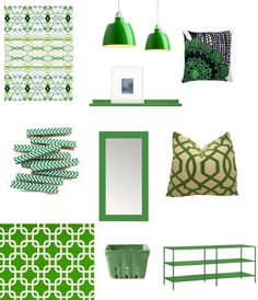 My green obsession is in high gear this week!  Happy St. Patrick's Day.