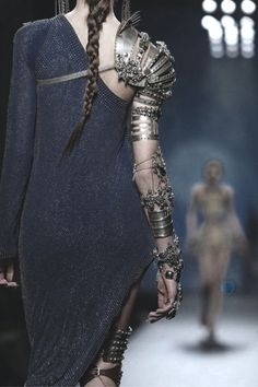 High Fashion Post Apocalyptic Style.....YES!