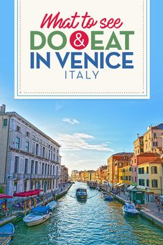 You can't travel Italy without going to beautiful Venice. From the canals, to the delicious street side cafes, click for your free guide on what to see, do and eat in Venice Italy.
