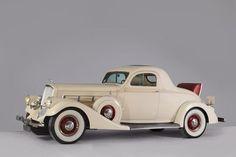 1935 Pierce-Arrow Model 845 Rumble Seat Coupe'