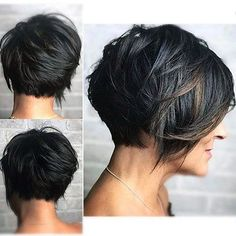 Short Pixie Haircuts, Short Bob Hairstyles, Short Pixie Bob, Sassy Haircuts, Layered Hairstyles, Fancy Hairstyles, Summer Hairstyles, Braided Hairstyles, Short Hair With Layers