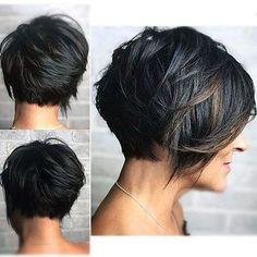 Short Pixie Haircuts, Short Bob Hairstyles, Short Pixie Bob, Sassy Haircuts, Layered Hairstyles, Fancy Hairstyles, Summer Hairstyles, Braided Hairstyles, Short Hair With Layers
