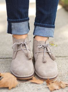 Cyra Catelyn booties by Hushpuppies. Image result for women wearing grey desert  boots