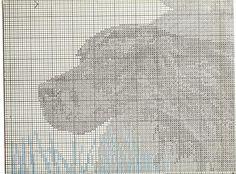 GUN DOGS - SETTERS 4 Gordon Setter, Crochet Stitches, Cross Stitch, Dogs, Picture Wall, Pet Dogs, Punto De Cruz, Seed Stitch, Cross Stitches