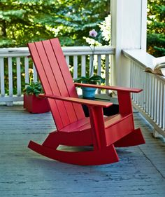 Adirondack Rocking Chair from Loll Designs