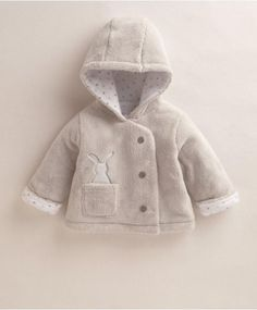 Unisex Welcome to the World Bunny Fur Jacket - Jackets/Coats - Mamas & Papas Baby Boy Fashion, Toddler Fashion, Kids Fashion, Baby Outfits Newborn, Baby Boy Outfits, Kids Outfits, Winter Baby Clothes, Baby Kids Clothes, New Baby Dress