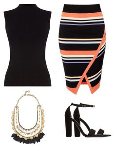 """""""Work outfit #3"""" by glamupparties on Polyvore featuring Oasis, Ted Baker, Stella & Dot and Charlotte Russe"""