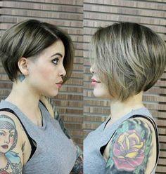 Short Haircut for Straight Thin Hair