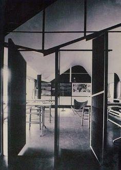 Ground Floor First Floor Second Floor Top Floor Guernica, Le Corbusier, Steel Windows, Butterfly Chair, Second Floor, Ground Floor, Interior And Exterior, Flooring, Architecture