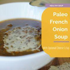 Paleo French Onion Soup  #Paleo #Recipe #Soup