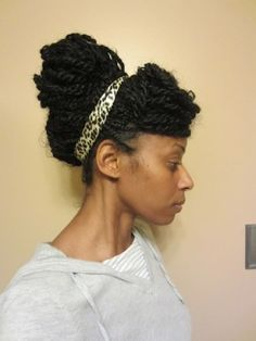 various protective styles (marley/havana twists)