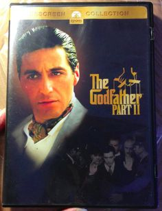 """""""Look how they massacred my boy."""" The #Godfather Part II 2 DVDs WIDESCREEN COLLECTION #PACINO #DENIRO #eBay #free ship #movies #dvds #bargains #coppola"""