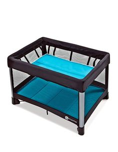 Buy the 4moms breeze playard. Unlike other playards, it opens and closes in just one simple step. It is seriously easy! $300