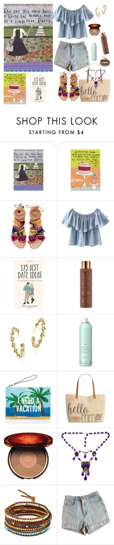 """Happy birthday Maria.."" by eiliana ❤ liked on Polyvore featuring Elina Linardaki, Chicnova Fashion, Vita Liberata, Roberto Coin, Drybar, Kate Spade, Style & Co., Clarins, Alice Joseph Vintage and Chan Luu"