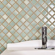 SomerTile Antaeus Mint Green Porcelain Mosaic Floor and Wall Tile sqft.) (Antaeus Mint Green), Size 12 x 12