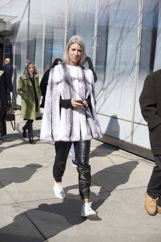 The Best Street Style From Day 7 of New York Fashion Week - Fashionista