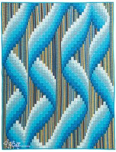 Bargello—Quilts in Motion by Ruth Ann Berry (C and T Publishing)