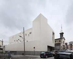 Notre Dame Rosary Church by ENIA Architects #architecture #religious-buildings