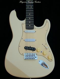 http://www.haywirecustomguitars.com Haywire Custom Guitars USA-Custom Shop 7 Sound Stratocaster with Lollar Pickups! Position 1 of the 5-way selector switch activates the bridge pickup alone; by engaging your new toggle switch, you can activate both the neck and the bridge pickups together. Likewise, with the 5-way selector switch in the second position and the bridge and middle pickups activated, a flick of the toggle switch adds the neck pickup to the equation.