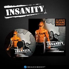 INSANITY Fast & Furious 20 Minute Maximum Fitness Results Workout DVD