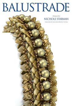 Balustrade Bracelet Pattern Digital PDF Copy by NicholeStarman