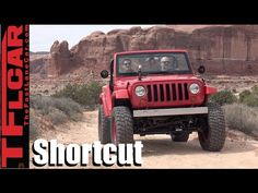 We Drive the Jeep Shortcut Concept Off-Road! - YouTube