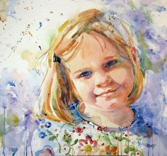 Xander by Carole Hillsbery. Watercolor Painting Techniques, Watercolor Portraits, Painting & Drawing, Watercolor Paintings, Painting Tutorials, Abstract Paintings, Watercolors, Watercolor Face, Abstract Watercolor
