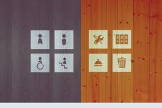 LaGrappe - Signalétique du bâtiment Scrabble