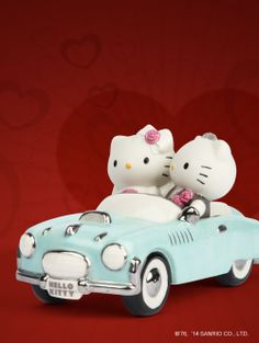 Hello Kitty & Dear Daniel take a drive