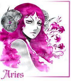 Aries by *Maevachan
