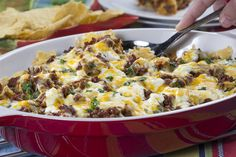 Our Taco Casserole is a simple, Mexican-inspired, ground beef recipe that everyone in your family will eat right up. It's got all the tasty taco fillings you and your family love. But best of all, you can make our Taco Casserole in advance, and heat