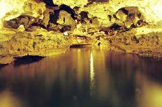 Interior da Caverna do Poço Feio - Gov. Dix-sept