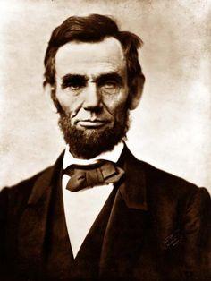 Abraham Lincoln ''La arenga de Gettysburg''
