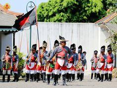 Kraton Jogjakarta Soldiers. More info visit https://www.instagram.com/kratonjogja_/