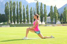 Dehnübungen für den Unterkörper :)    klarafuchs.com  #powergirlmovement #fitness #stretching #health #powergirl #fitsp