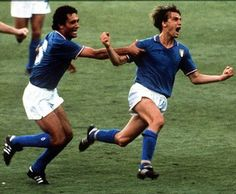 Tardelli with the yell heard around the world! Italy, World Cup 1982 winner