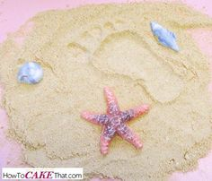 Recipe for realistic edible sand for beach themed cakes!