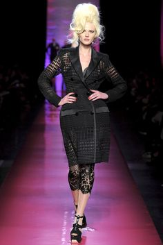 Jean Paul Gaultier Spring 2012 Couture Fashion Show - Anne  Vyalitsyna