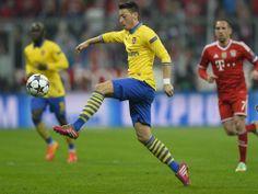 Özil vs Bayern Munich 2013-2014.