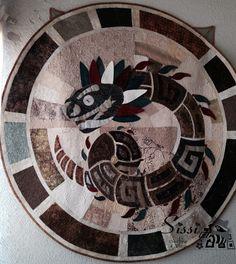 Quetzalcóatl by Arturo Aranda, Sissi Gutiérrez y Verónica Toledo (Sissi Quilting & Stitch)
