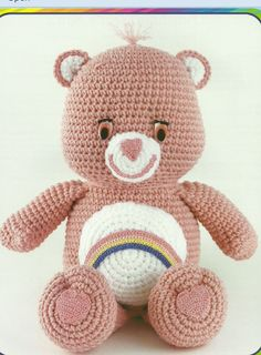 The Vintage Toy Chest: Crochet Patterns. I have to make this care bear!