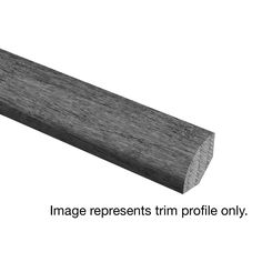 Riveria Weathered Hickory 3/4 in. Thick x 3/4 in. Wide x 94 in. Length Hardwood Quarter Round Molding